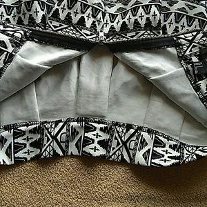 Forever 21 Skirts - Black White Skirt